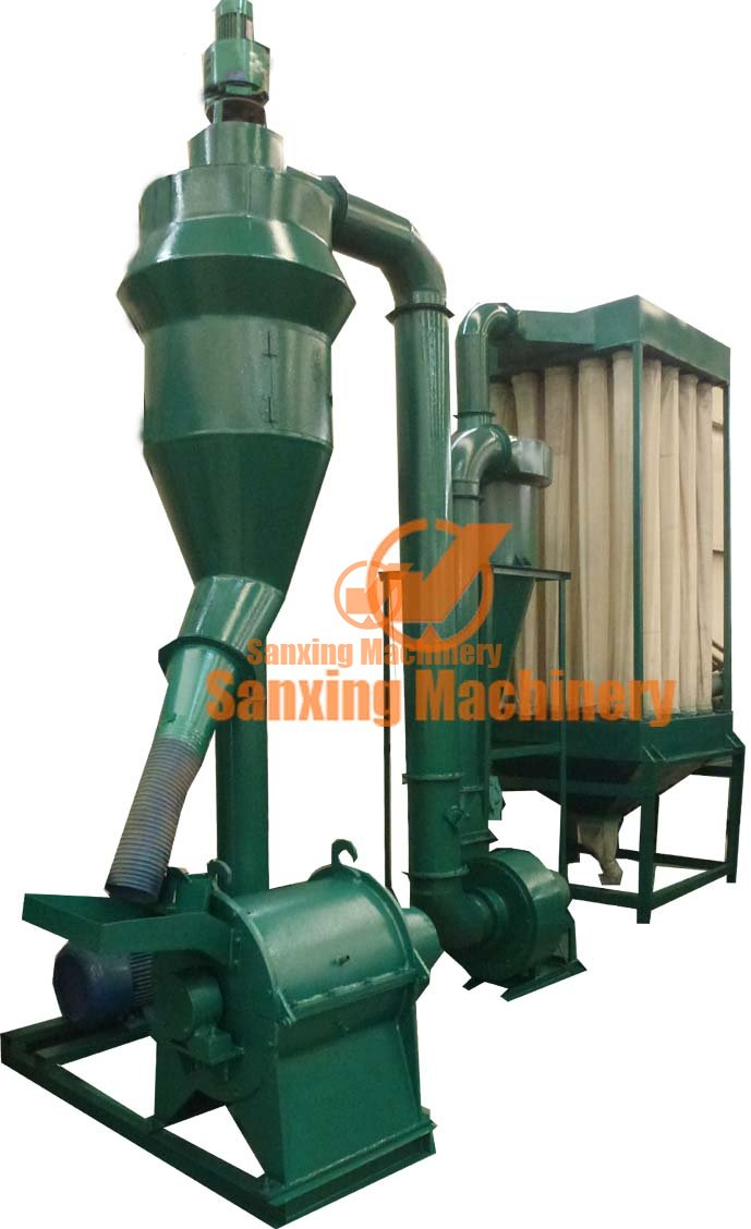 wood fiber making machine
