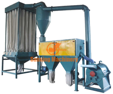Standard wood flour making machine